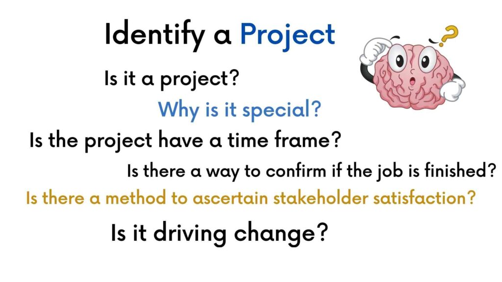 identify a project