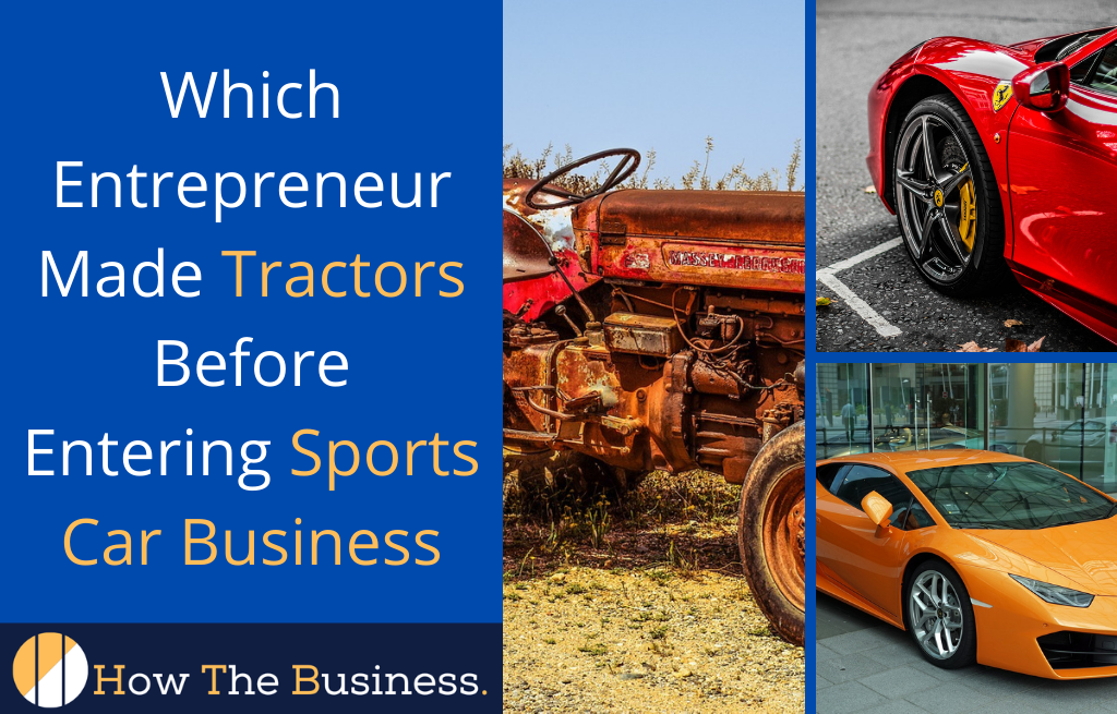 Made Tractors Before Entering Sports Car Business