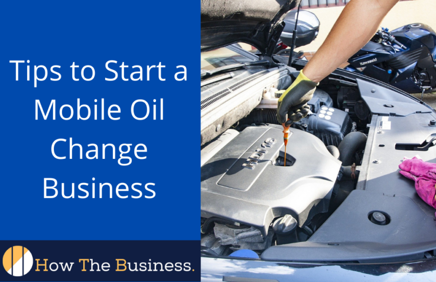 mobile oil change business