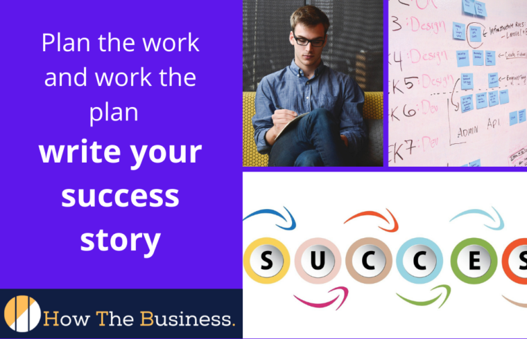 plan the work and work the plan